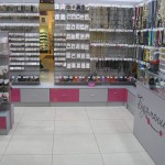 Торговое оборудование для отдела бижутерии в ТЦ Жемчужная Плаза
