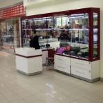 Торговое оборудование для магазина сумок в ТК