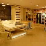 """Торговое оборудование для магазина текстиля в ТК """"Толстой Сквер"""""""