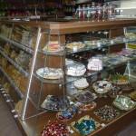 Стеклянные витрины и прилавки для продуктового магазина