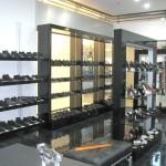 Стеллажи и полки для обувного отдела
