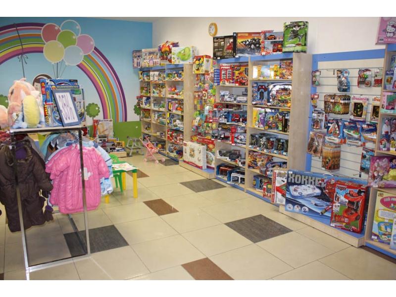 Фотографии торгового оборудования для магазинов детской одежды и GB410