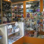 Торговые прилавки и оборудование для магазина косметики