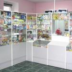 Торговое оборудование для аптеки Мелисса-фарм