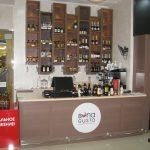 Кассовая стойка и полки для алкогольного магазина Bona Gusto