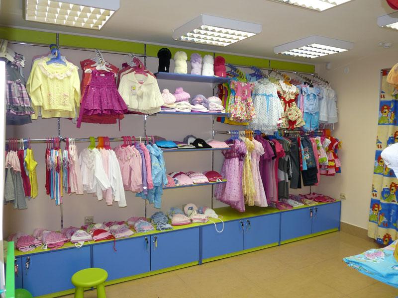 Фотографии торгового оборудования для магазинов детской одежды и ZC110