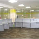 Стеклянные и пластиковые офисные перегородки