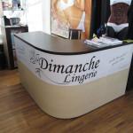 Стойка кассовая для магазина Dimanche Lingerie