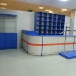 Торговое оборудование для магазина спецодежды Восток-сервис