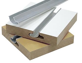 Алюминиевые вставки в экономпанель