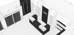 Черновые эскизы проекта магазина одежды (06)