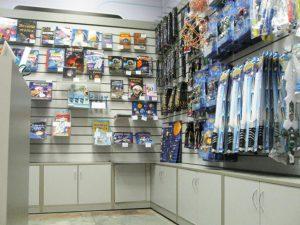 Торговое оборудование для сувениров
