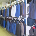 Торговое оборудование магазина мужской одежды