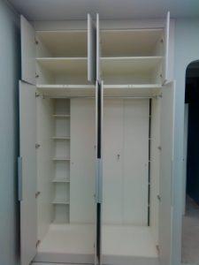 Зона хранения внутри шкафа