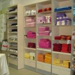 Торговое оборудование для отдела домашнего текстиля в Гостином дворе