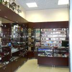 Изготовление торговых шкафов, витрин и прилавков для магазина табачных изделий