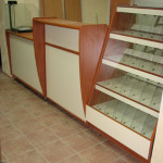 Прилавки и витрины для кондитерского магазина