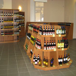 """Торговое оборудование для алкогольного супермаркета """"Ароматный мир"""""""