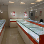 Изготовление торгового оборудования для ювелирного магазина
