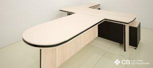 3D-визуализация офисного стола руководителя