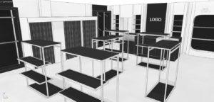 Черновые эскизы проекта магазина одежды (04)