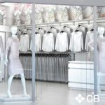 Визуализация магазина женской одежды