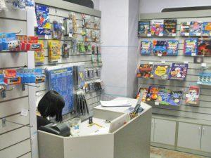 Прилавок и экономпанели для сувениров