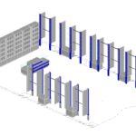 Общий план расстановки торговой мебели